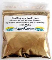 Lodestones Food Gold Magnetic Sand 4oz